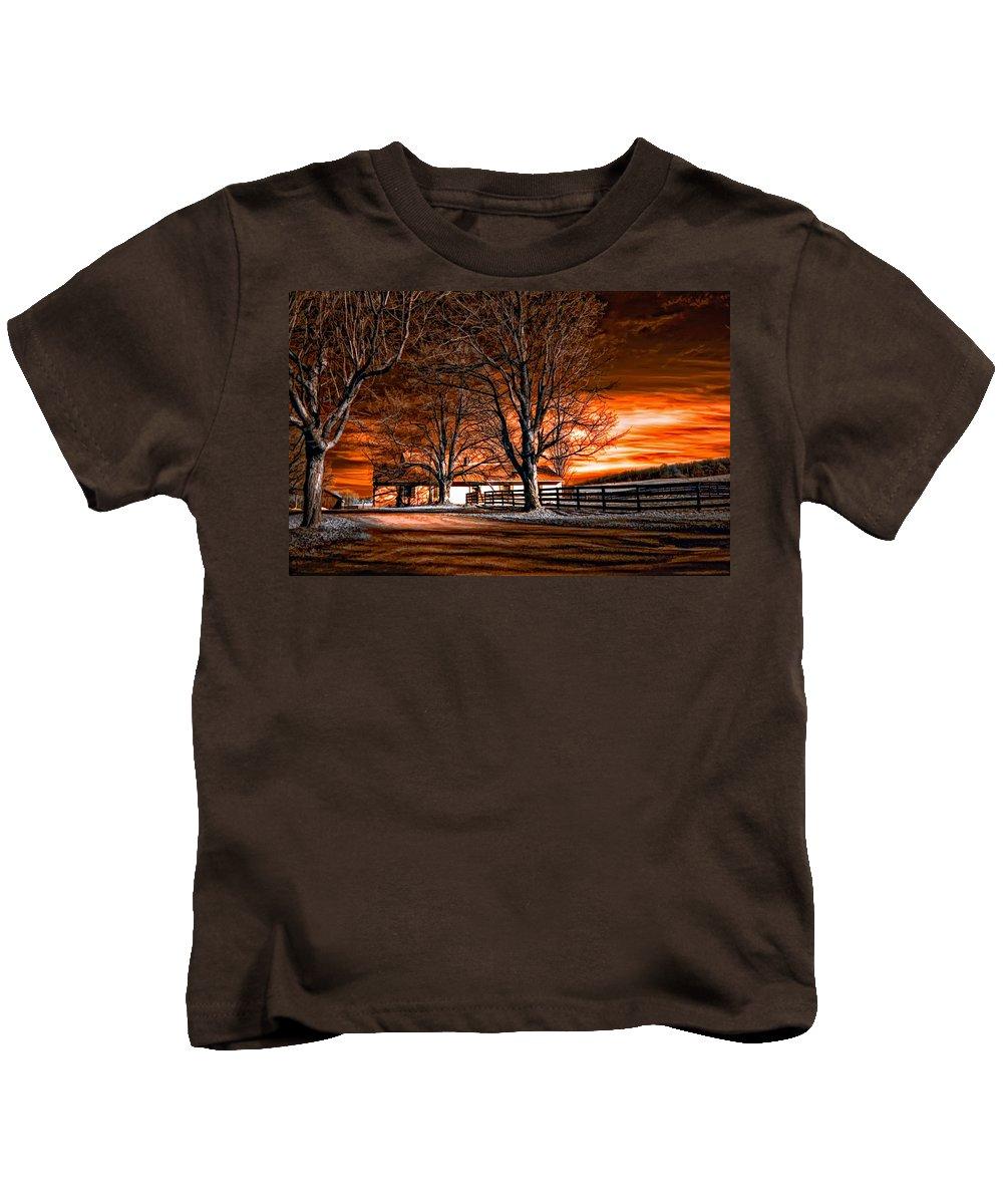Farm Kids T-Shirt featuring the photograph Limbo by Steve Harrington