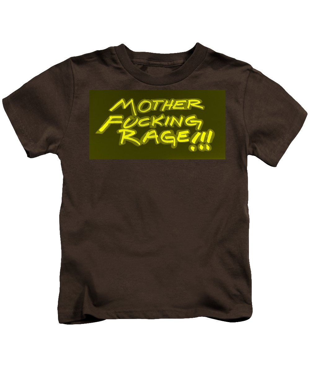 Fuck Kids T-Shirt featuring the photograph M F R Yellow by Rob Hans