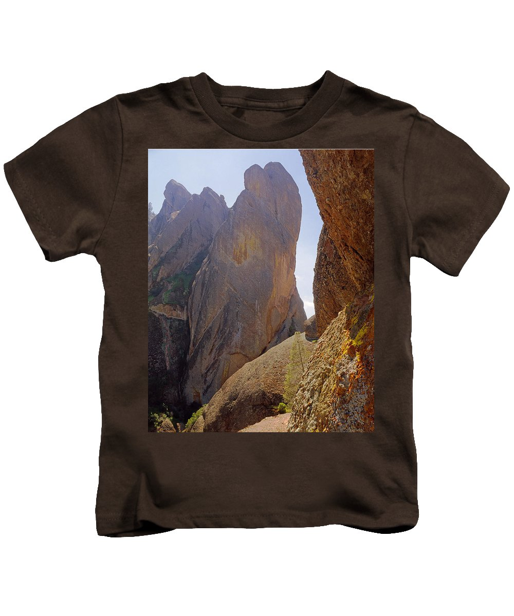 Machete Ridge Kids T-Shirt featuring the photograph Machete Ridge From North by Ed Cooper Photography