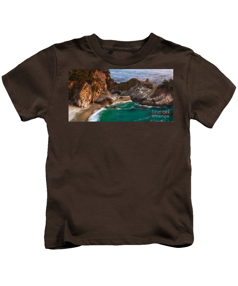 Mcway Falls Kids T-Shirt featuring the photograph Mcway Falls by Anthony Bonafede