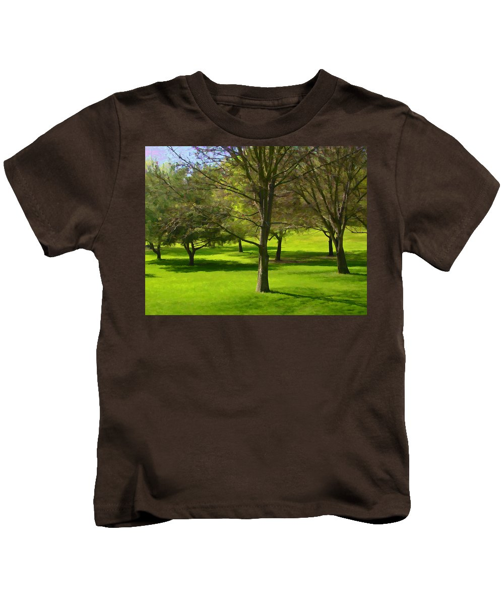 Landscape Kids T-Shirt featuring the photograph Meadow by Guillermo Rodriguez