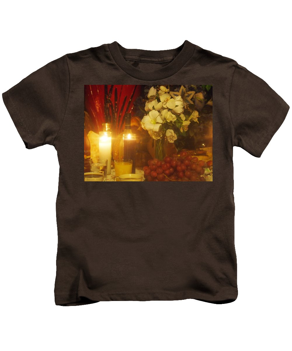 Kids T-Shirt featuring the photograph Never Alone by Jill Rucker Simmons