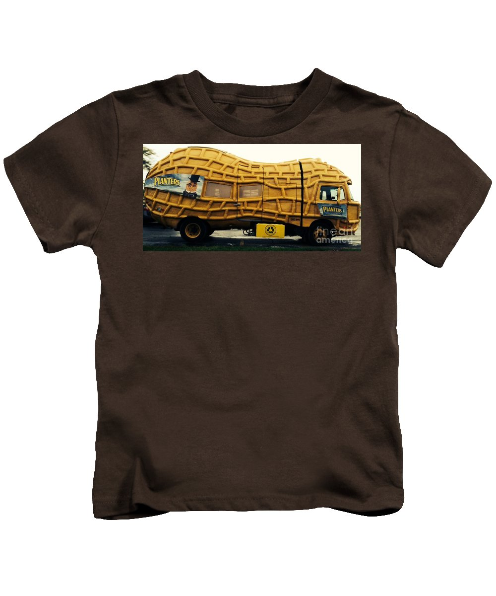 Nut Mobile Kids T-Shirt featuring the photograph Nutmobile by Michael Krek