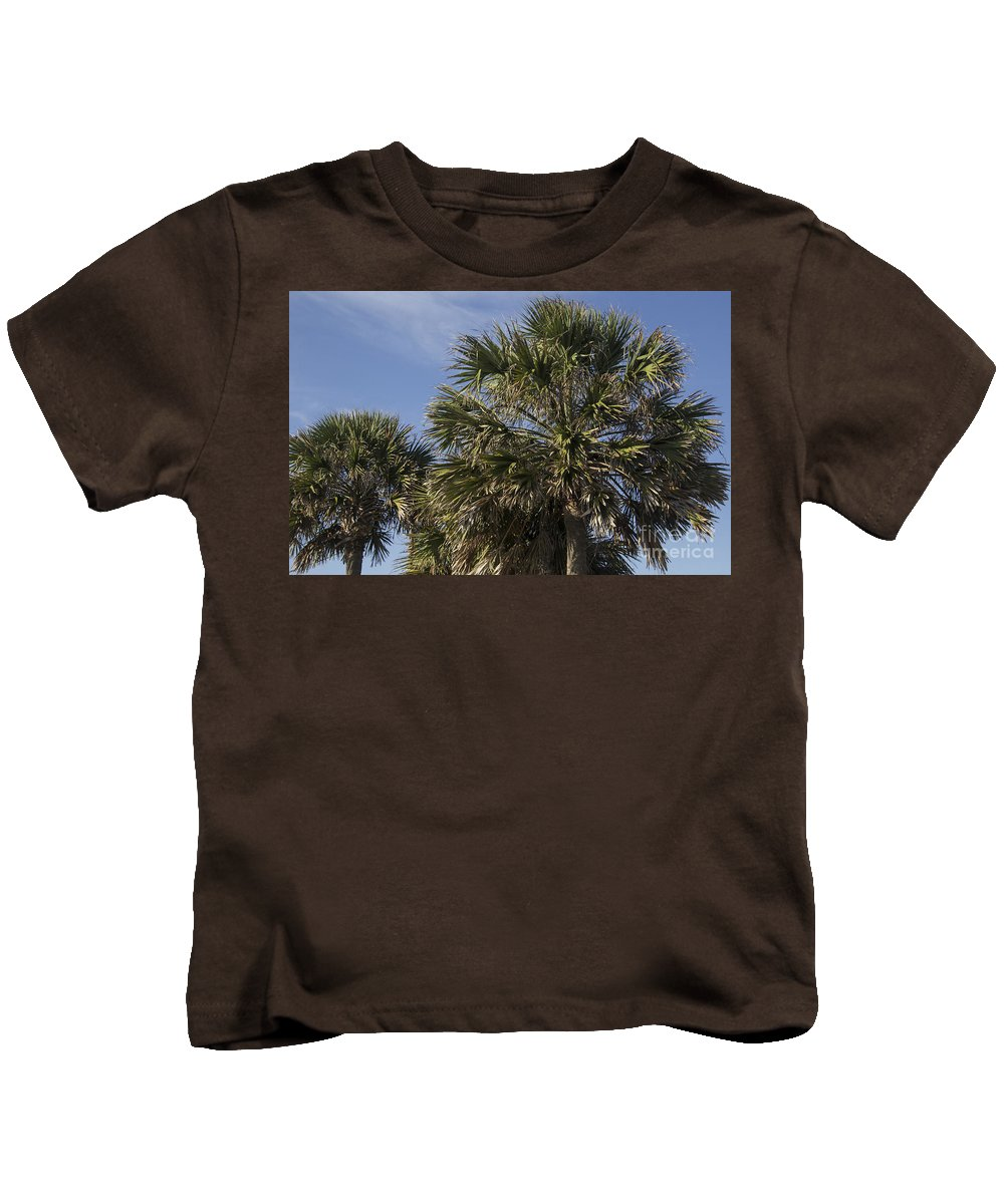 Palmetto Kids T-Shirt featuring the photograph Palmetto by Teresa Mucha