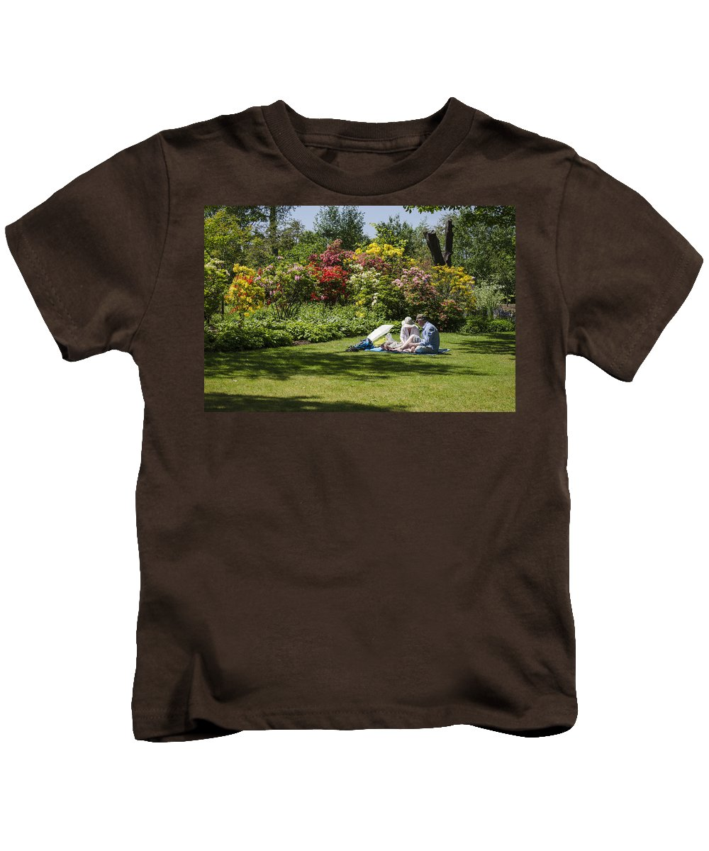 Ness Kids T-Shirt featuring the photograph Summer Picnic by Spikey Mouse Photography