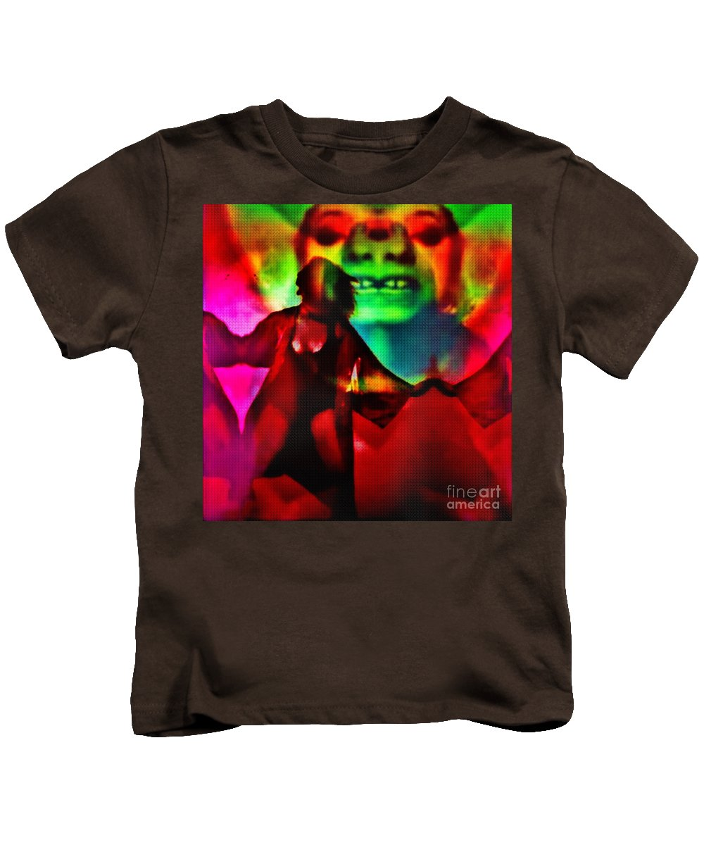 Kids T-Shirt featuring the photograph Psychotropic by Jessica Shelton