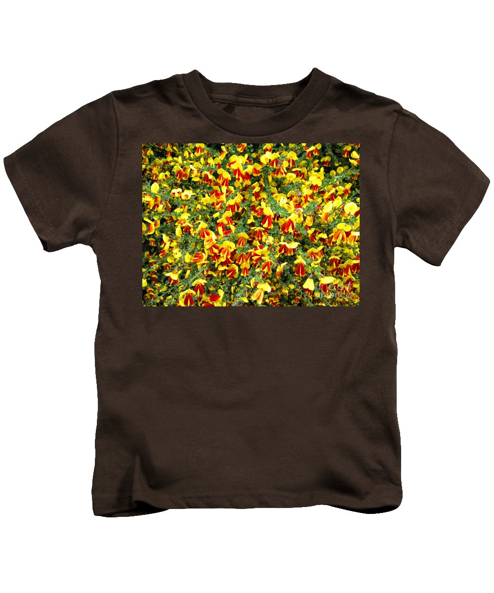 Scotland Kids T-Shirt featuring the photograph Red And Yellow by Timothy Hacker