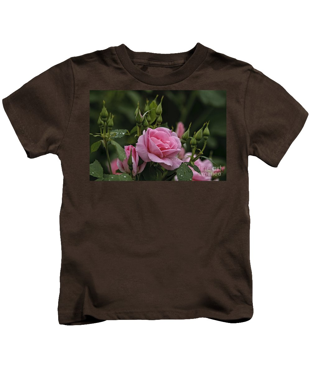 Rose Kids T-Shirt featuring the photograph Rose Pictures 328 by World Wildlife Photography