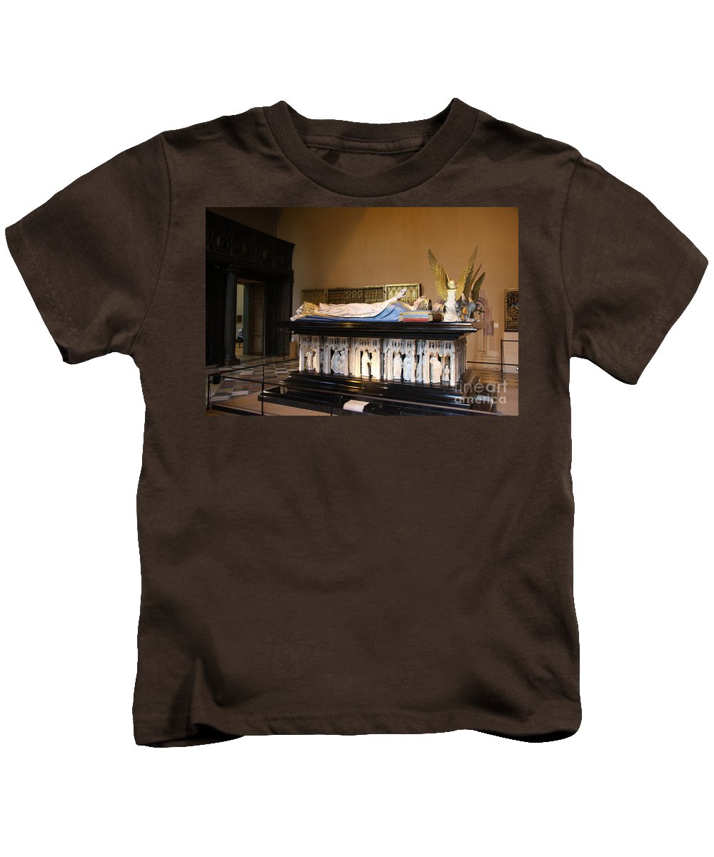 Museum Kids T-Shirt featuring the photograph Salle De Gardes - Palace Dijon by Christiane Schulze Art And Photography