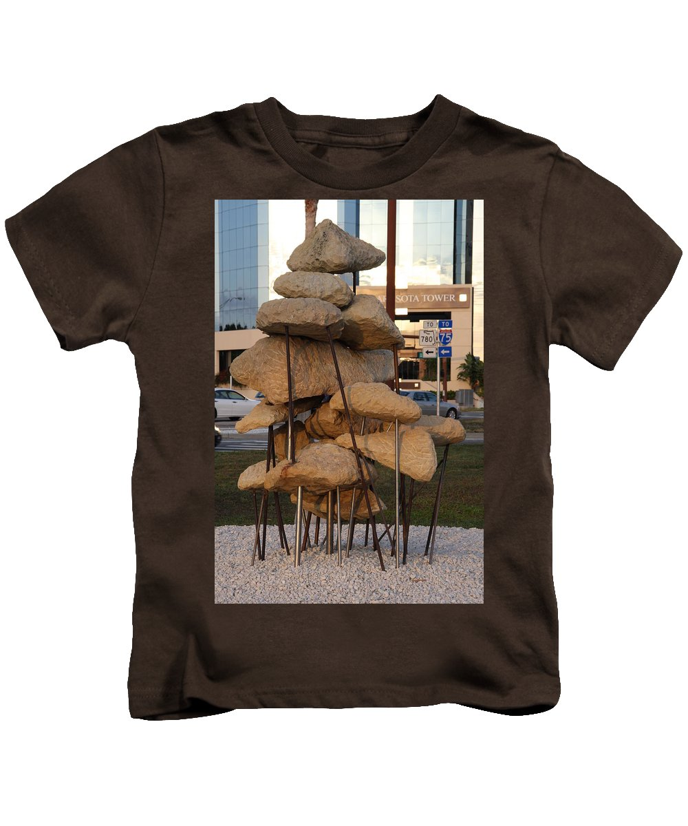 Art Kids T-Shirt featuring the photograph Sarasota - Art 2010 II by Christiane Schulze Art And Photography