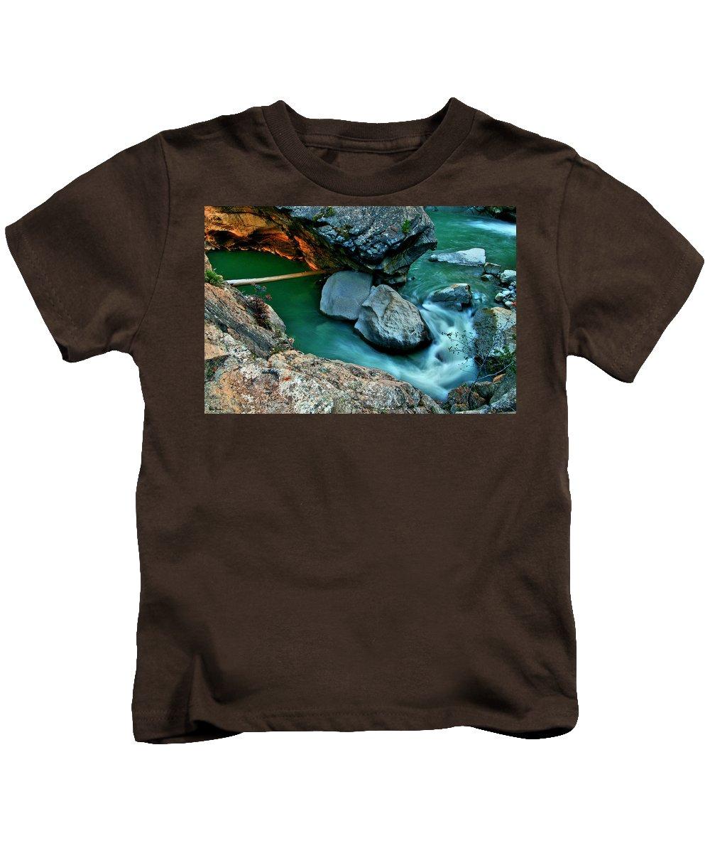Jeremy Rhoades Kids T-Shirt featuring the photograph Sidewinder by Jeremy Rhoades