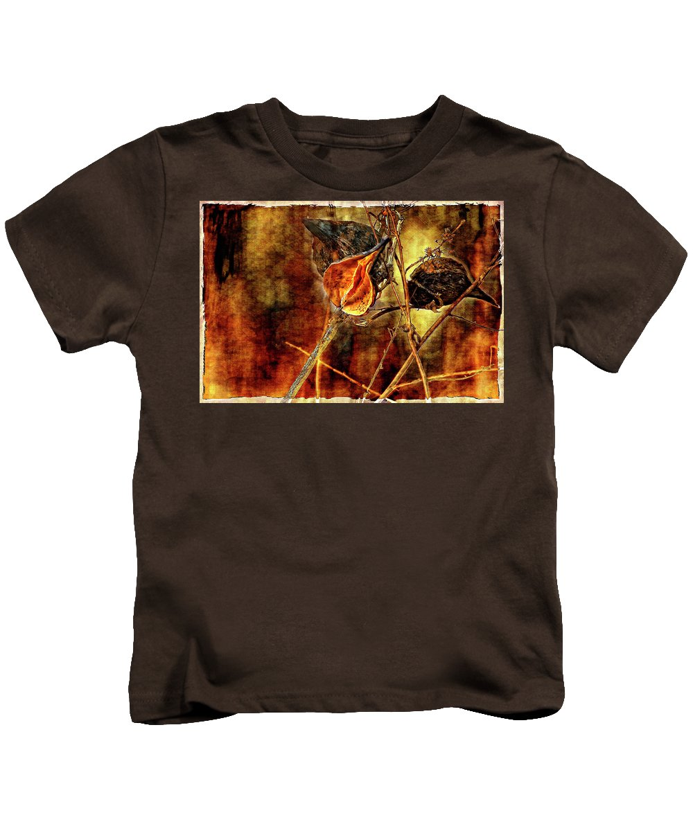 Weeds Kids T-Shirt featuring the photograph Still Life Study II by Steve Harrington