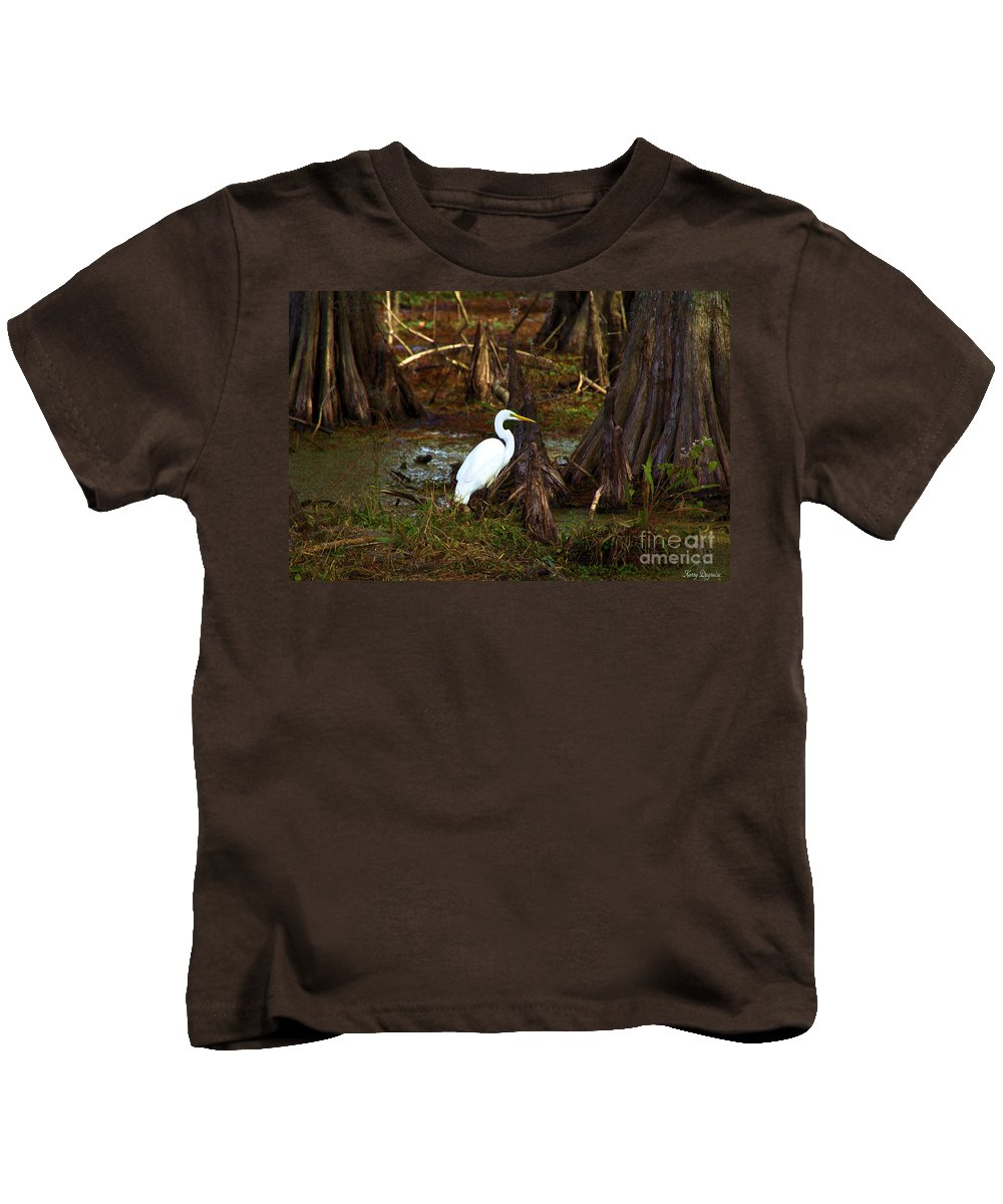 Sunday Stroll Kids T-Shirt featuring the photograph Sunday Stroll by Karry Degruise