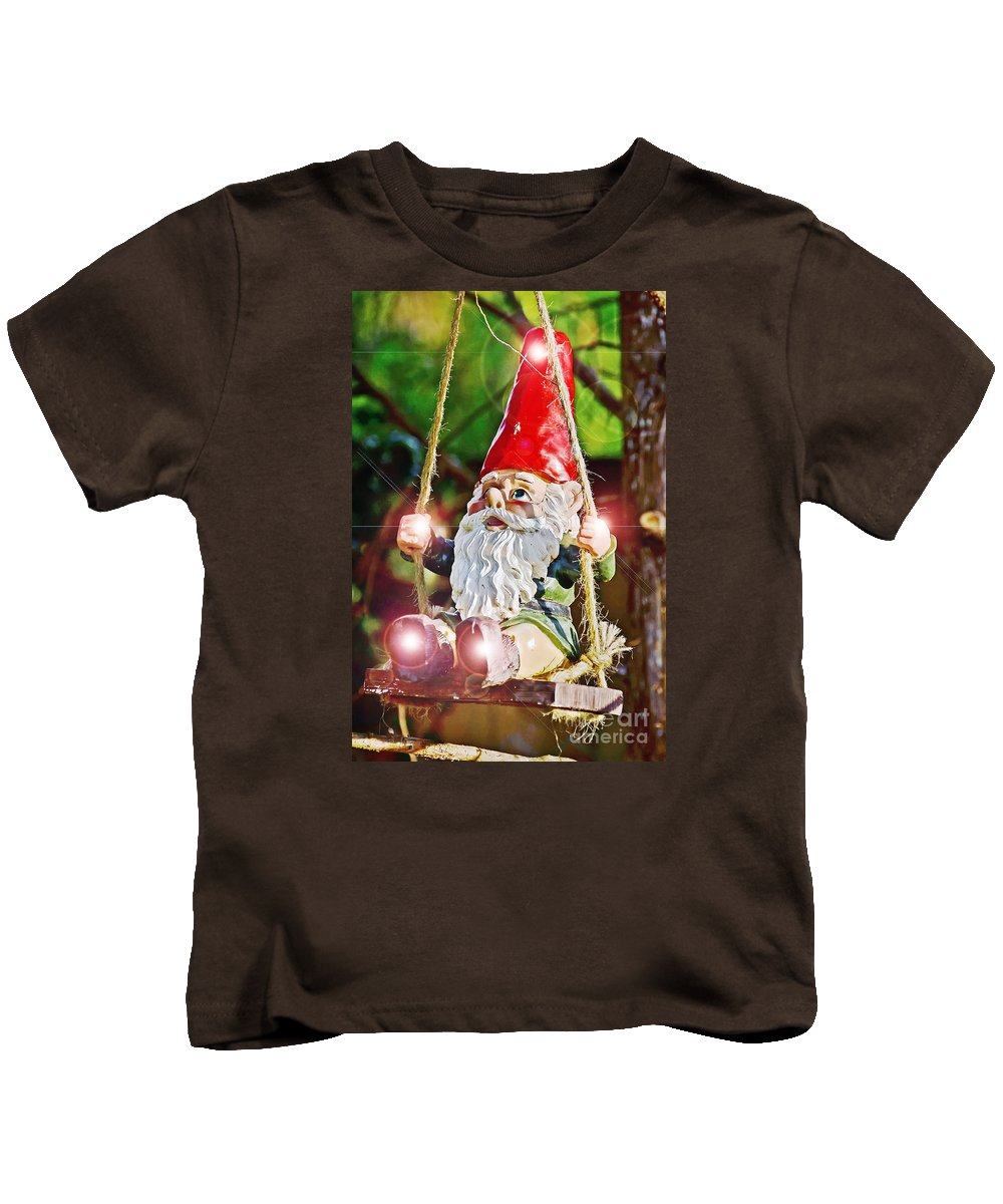Myth Kids T-Shirt featuring the photograph The Appearance by Elvis Vaughn