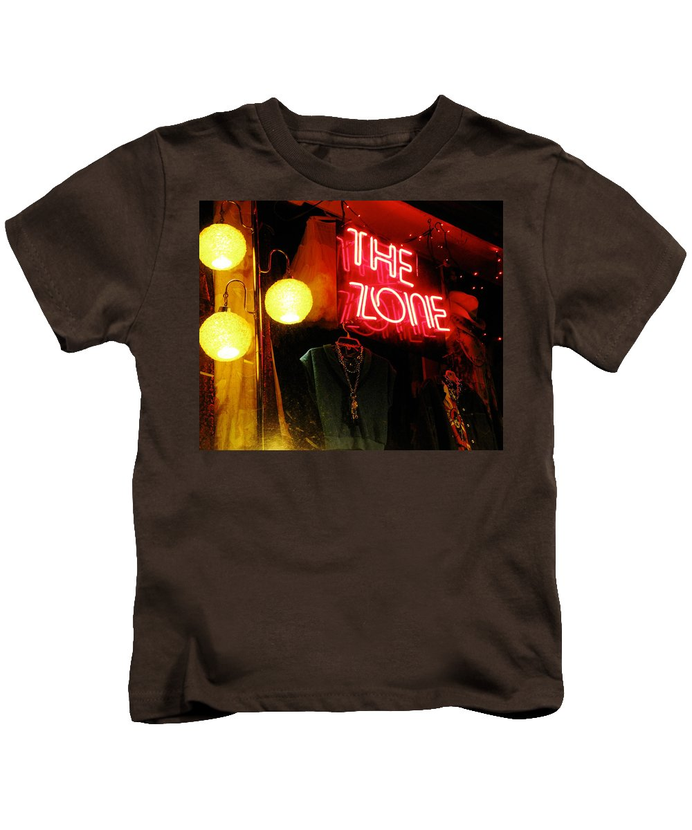 The Zone Kids T-Shirt featuring the photograph The Zone by Randi Kuhne