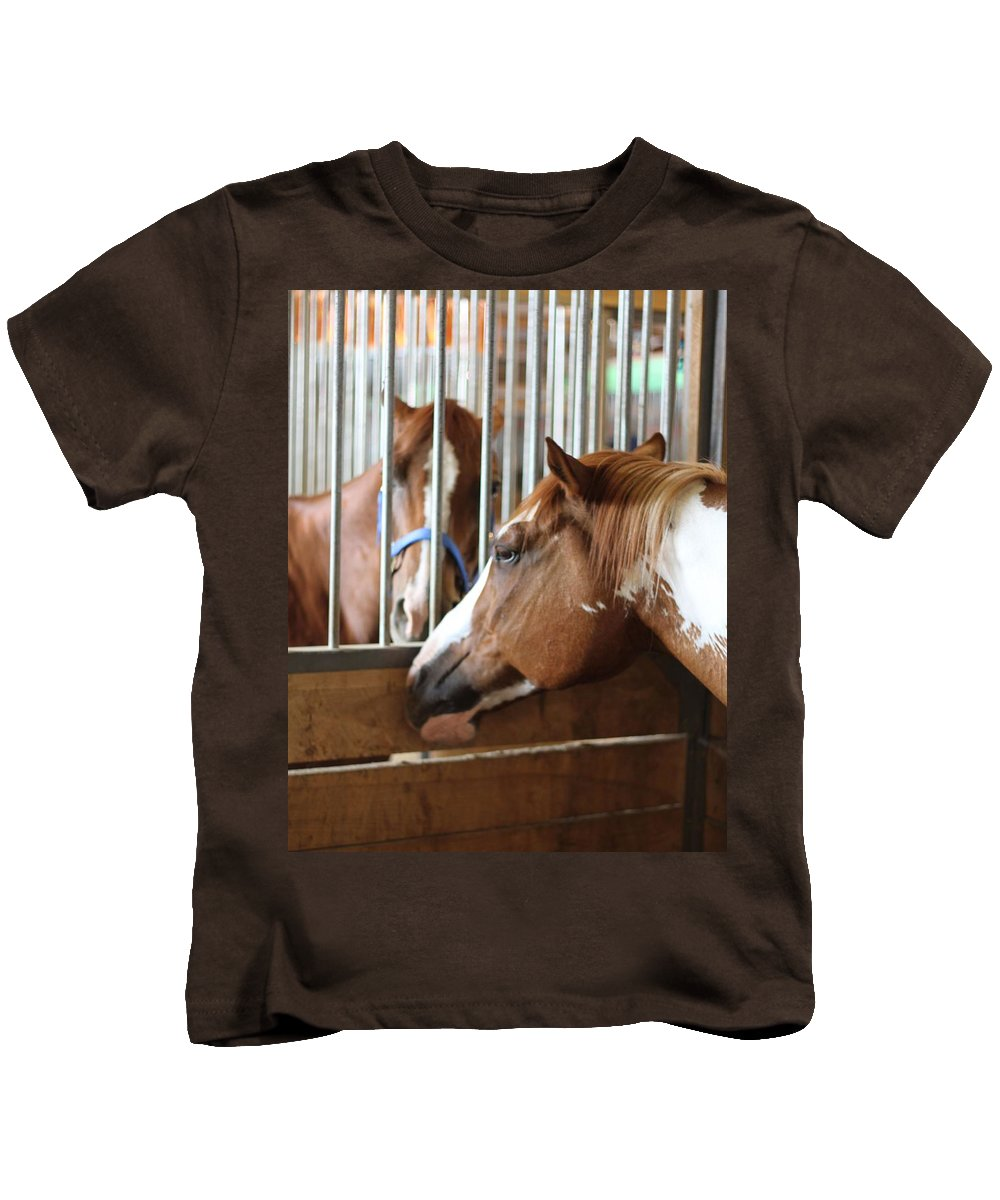 They Can't Keep Us Apart Kids T-Shirt featuring the photograph They Can't Keep Us Apart by Dan Sproul