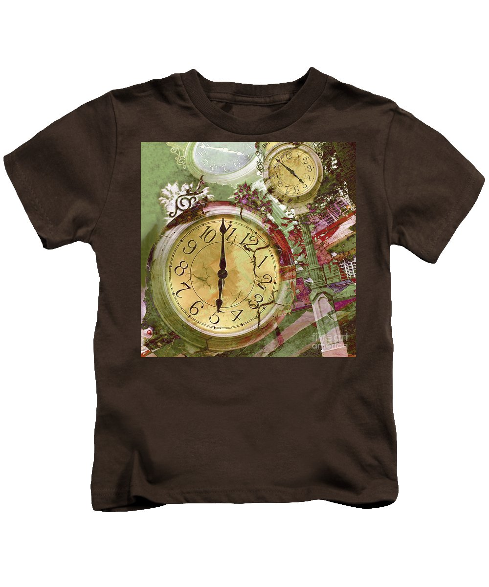 Time Kids T-Shirt featuring the photograph Time 5 by Claudia Ellis
