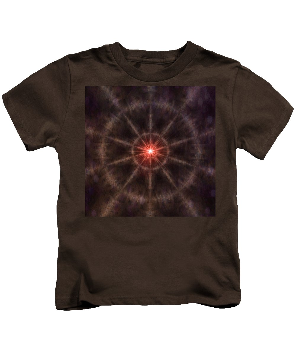 Time Kids T-Shirt featuring the digital art Time Travel by James Barnes