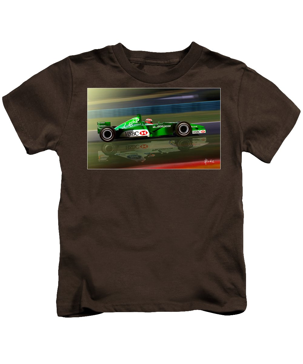 F1 Kids T-Shirt featuring the photograph Transition by Craig Purdie