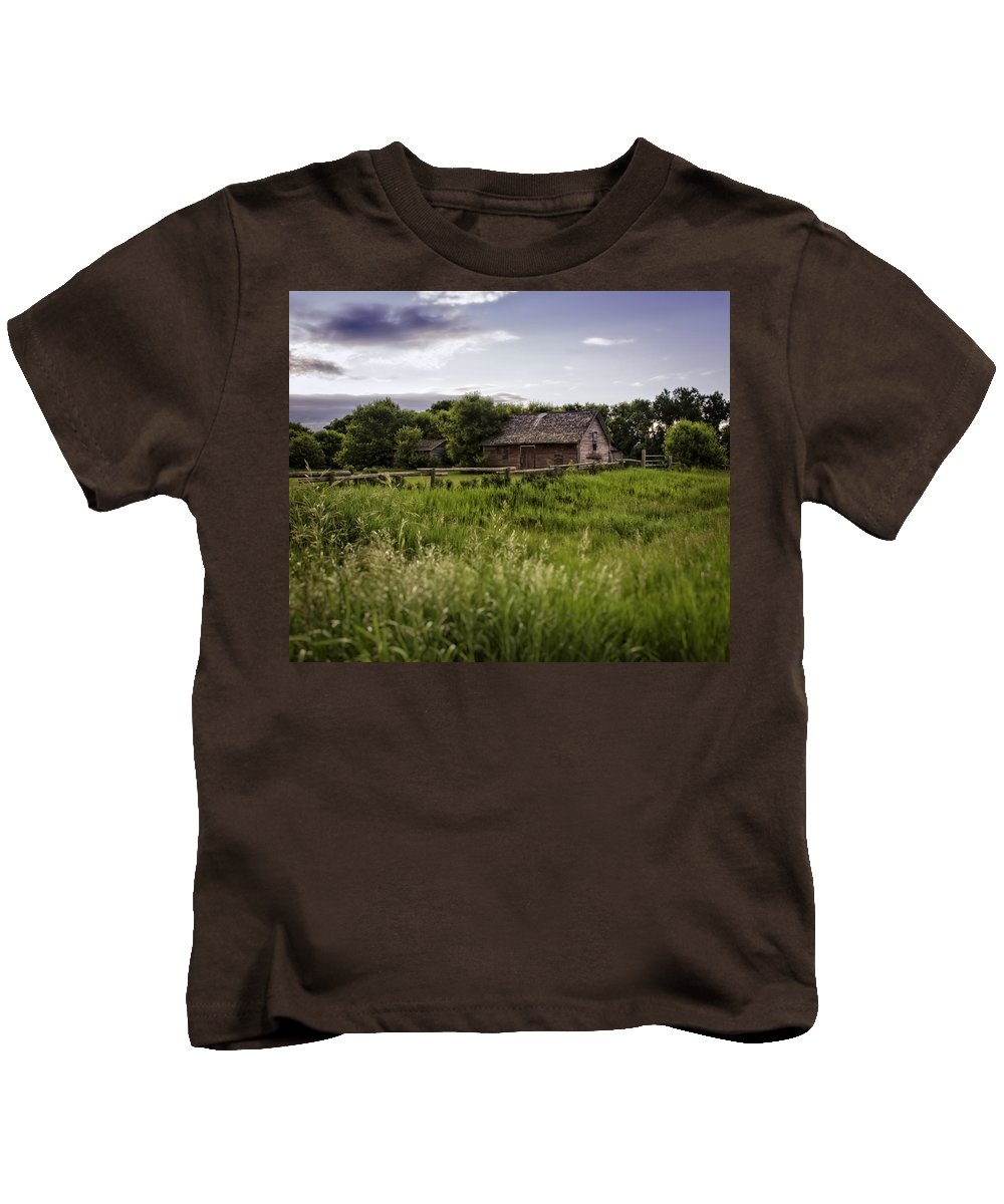 Canada Kids T-Shirt featuring the photograph Watching You From Afar by Sandra Parlow