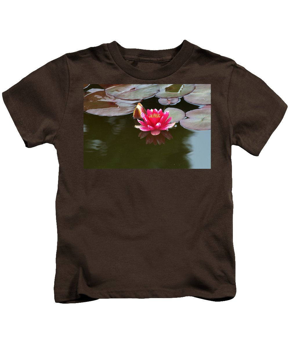 Water Lily Kids T-Shirt featuring the photograph Water Lily by Chris Day