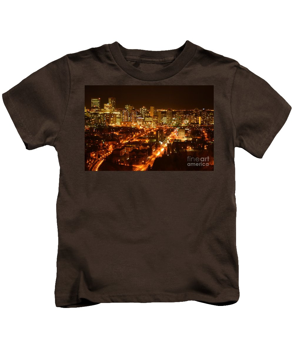 City Kids T-Shirt featuring the photograph West Side by Stephanie Bland