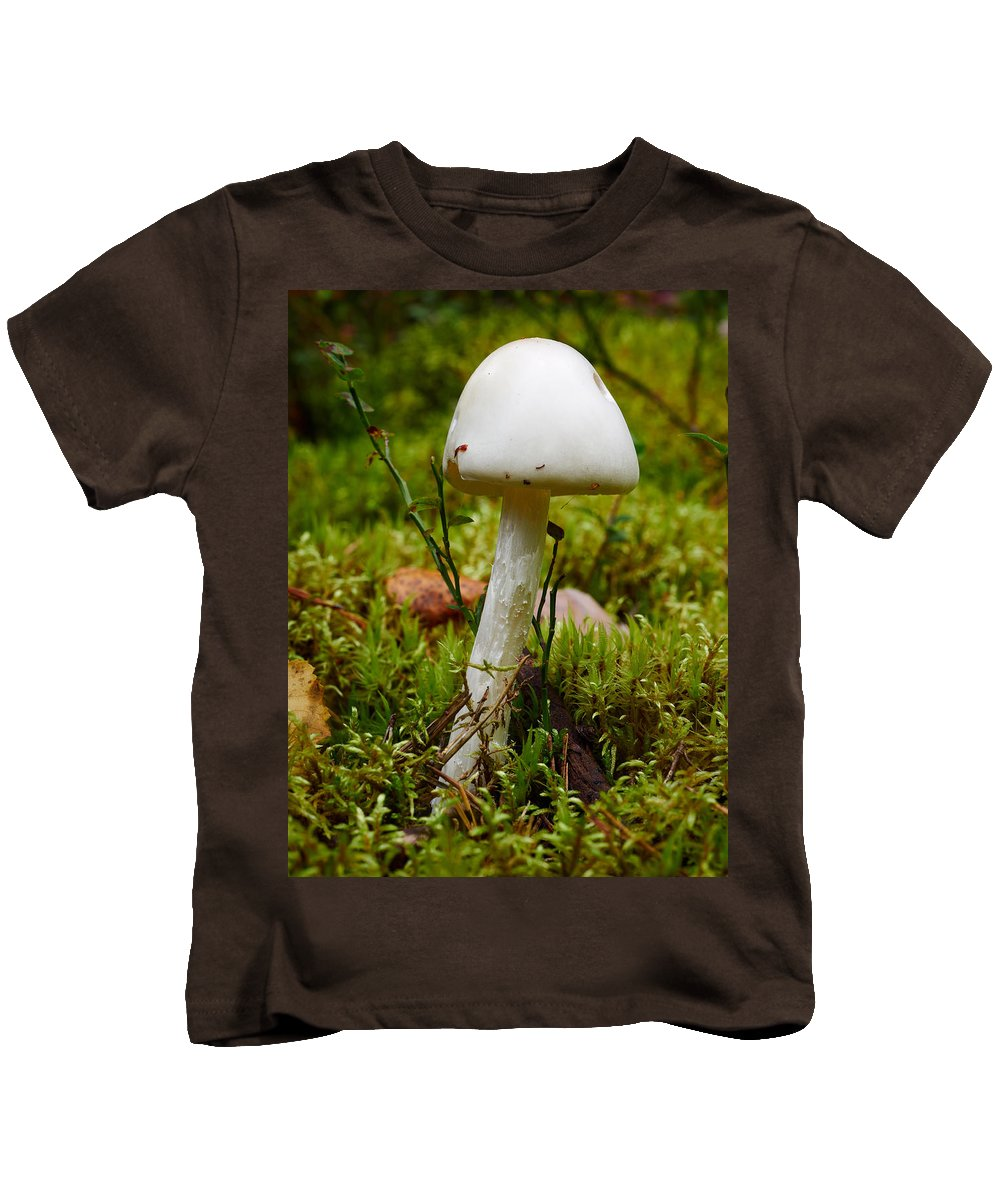 Finland Kids T-Shirt featuring the photograph White Killer by Jouko Lehto