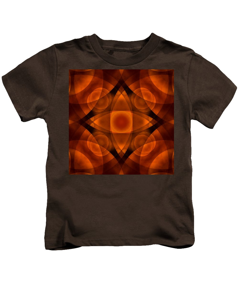 Abstract Kids T-Shirt featuring the photograph Worlds Collide 15 by Mike McGlothlen
