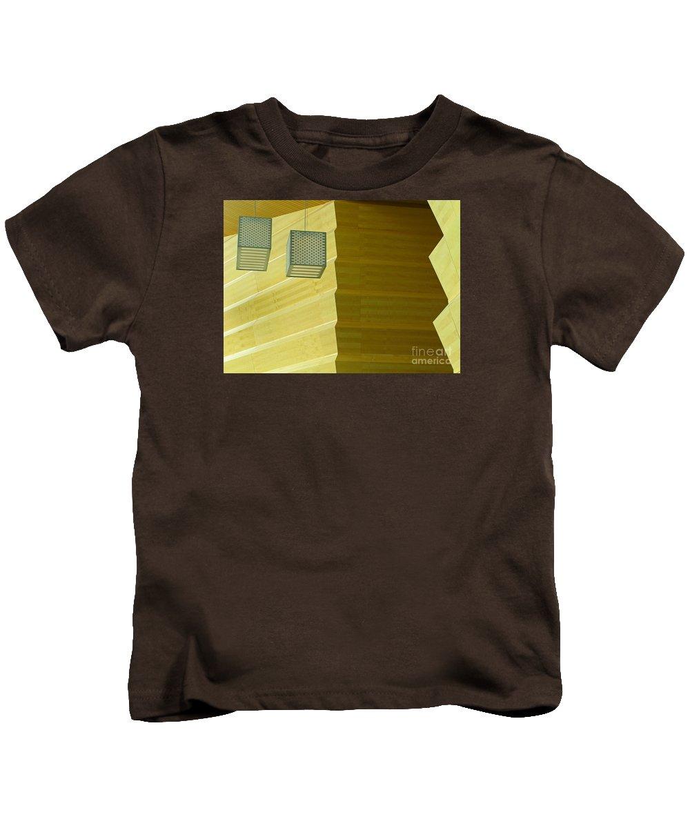 Zig-zag Kids T-Shirt featuring the photograph Zig-zag by Ann Horn