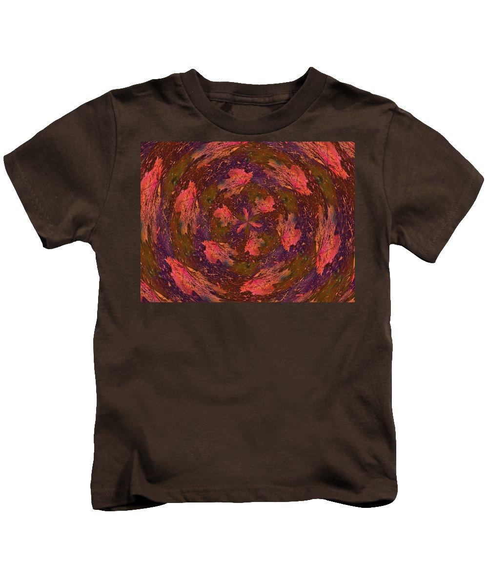 Windblown Kids T-Shirt featuring the digital art Windblown by Tim Allen