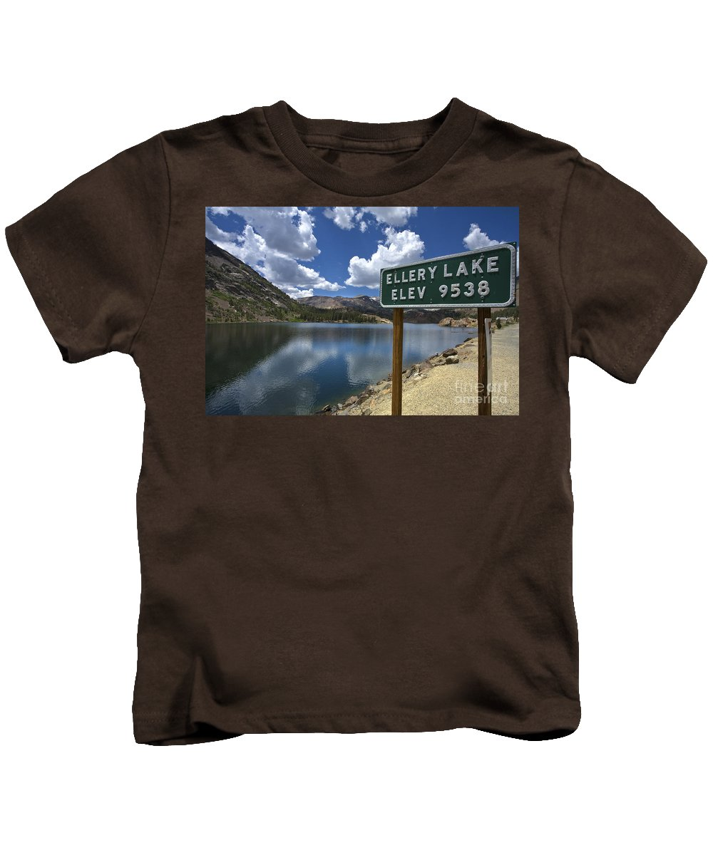 Yosemite Kids T-Shirt featuring the photograph Yosemite by Daniel Knighton