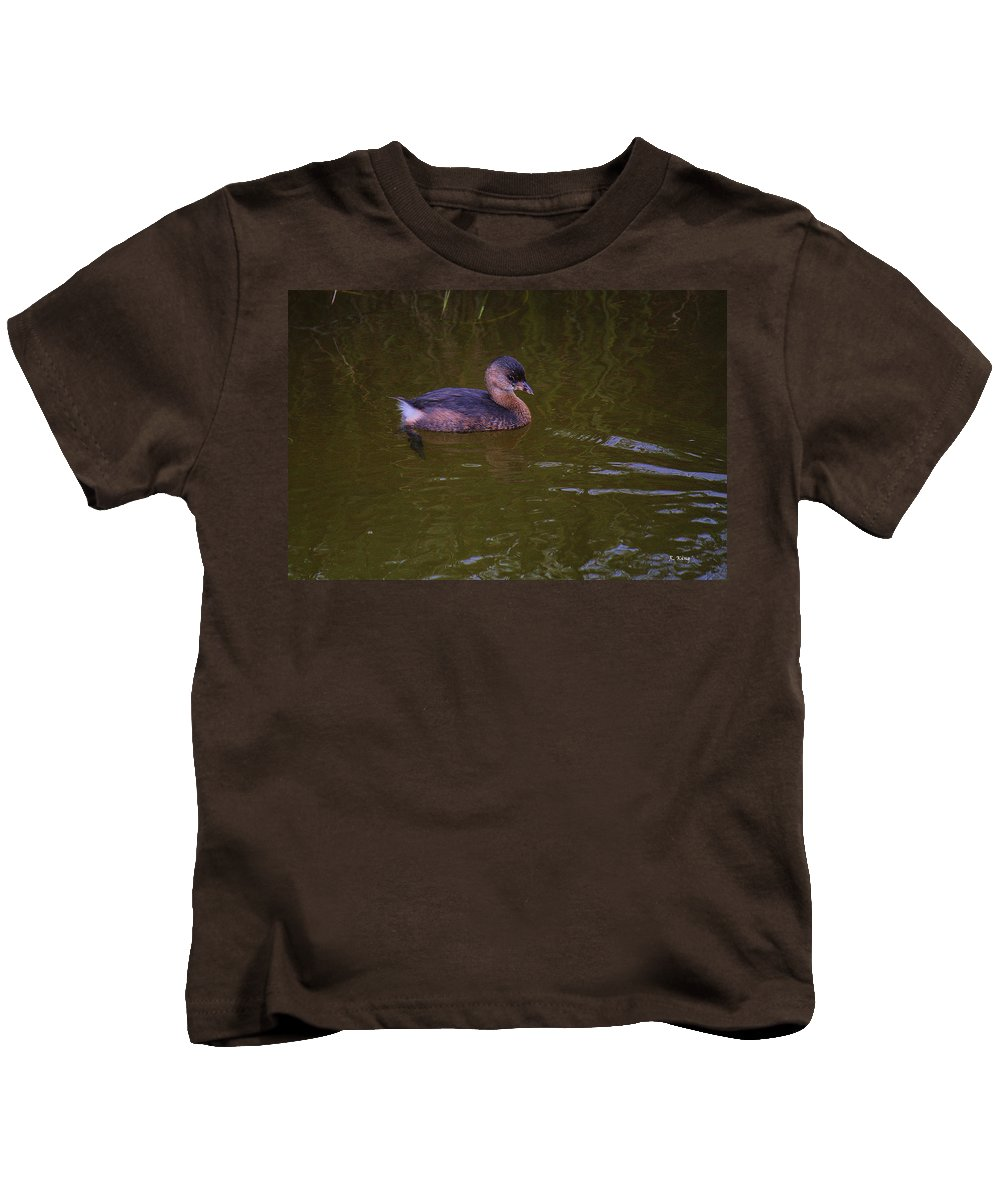 Roena King Kids T-Shirt featuring the photograph Am I Cute Or What by Roena King