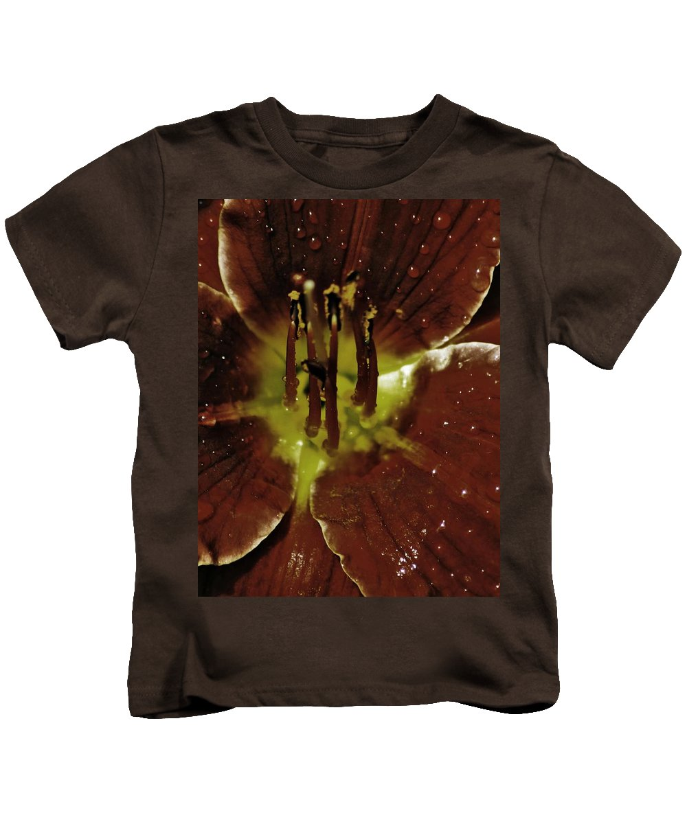 Flower Kids T-Shirt featuring the photograph Amaryllis by The Artist Project