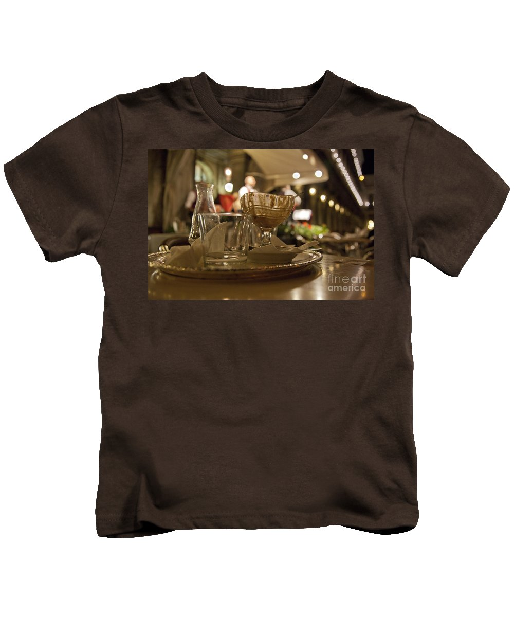 Still Life Kids T-Shirt featuring the photograph Another Gelato Please by Madeline Ellis