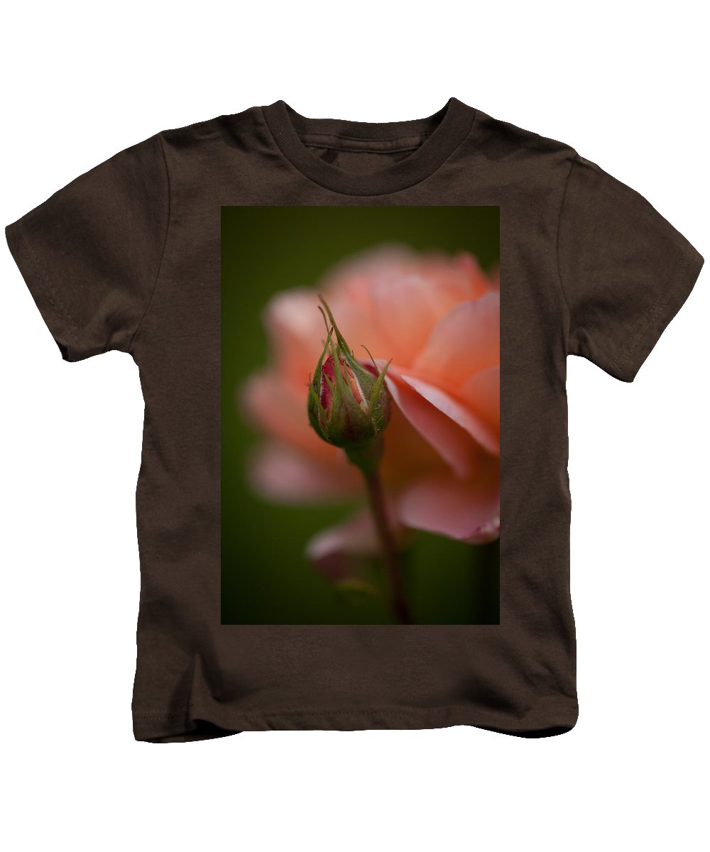 Rose Kids T-Shirt featuring the photograph Beautiful Potential by Mike Reid