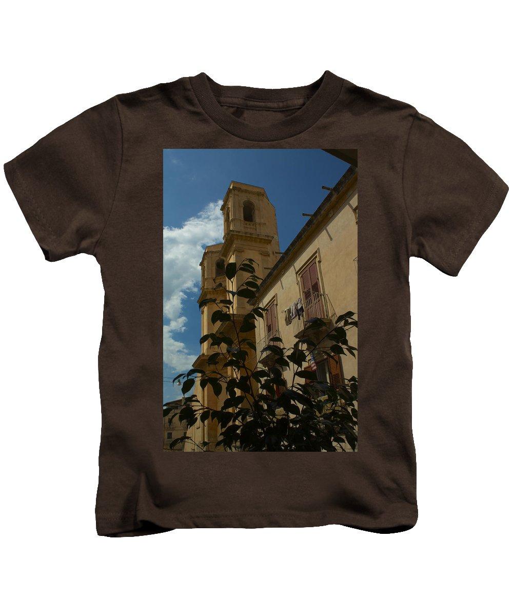 Italie Kids T-Shirt featuring the photograph Bla Bla by Donato Iannuzzi