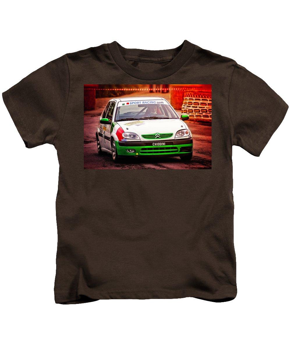 Car Kids T-Shirt featuring the photograph Citroen by Alain De Maximy