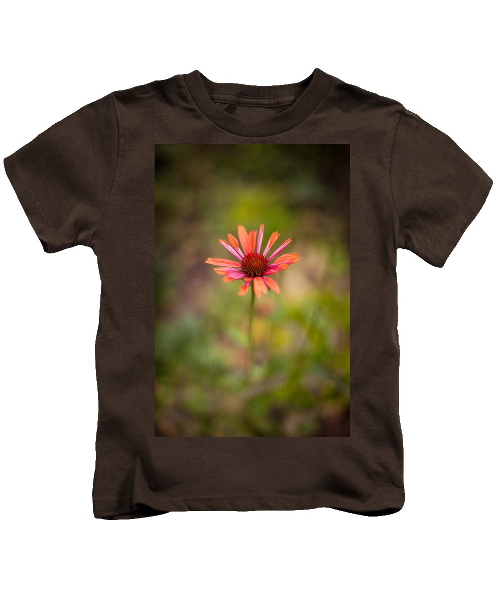 Flower Kids T-Shirt featuring the photograph Colorful Stand by Mike Reid