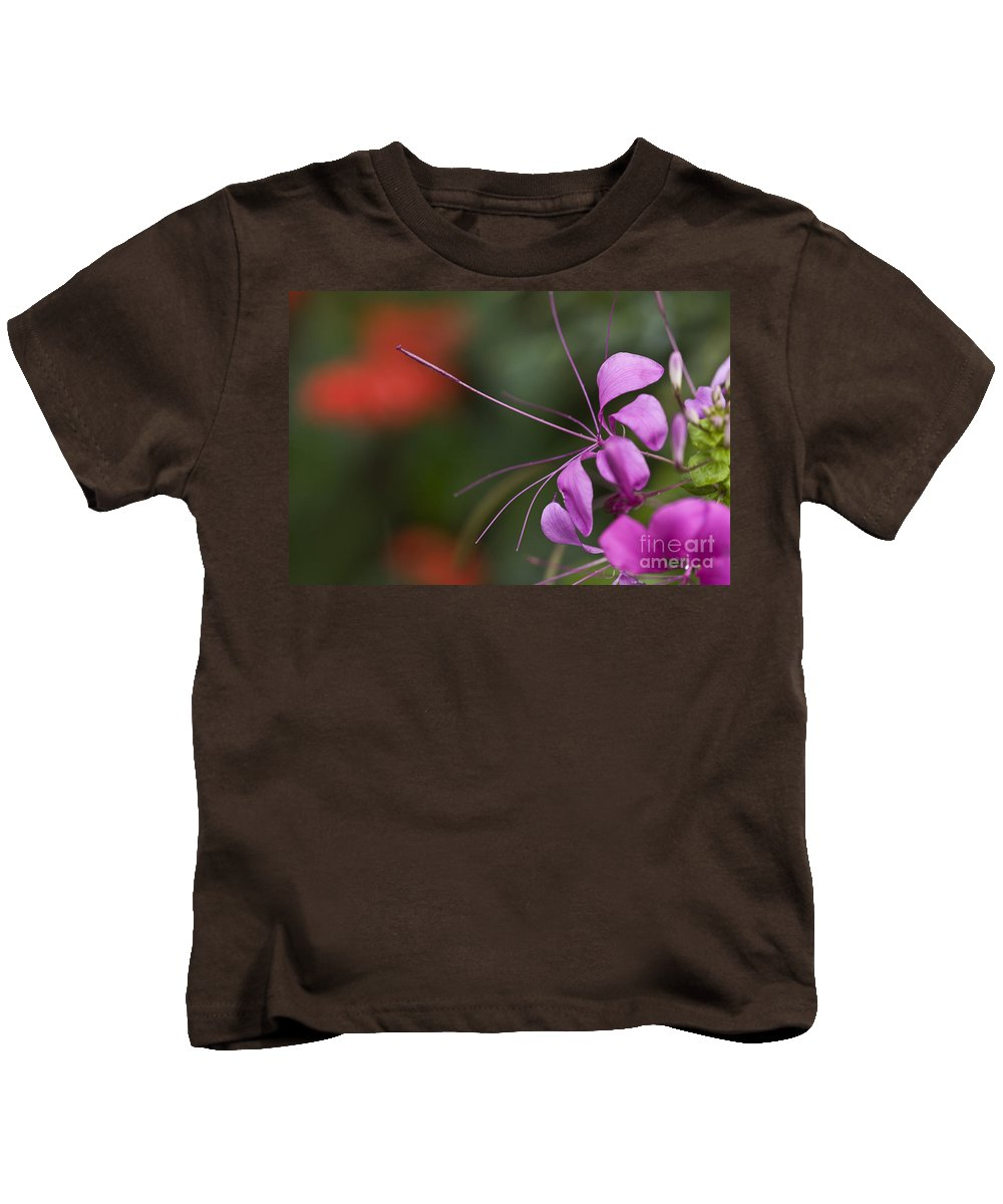 Nature Kids T-Shirt featuring the photograph Delicate Blossom by Heiko Koehrer-Wagner