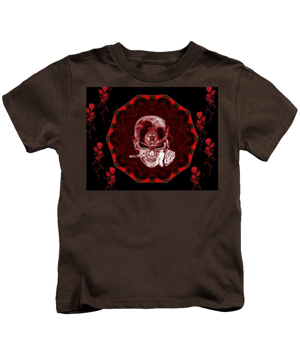 Devil Kids T-Shirt featuring the digital art Devils Advocate by Michael Damiani