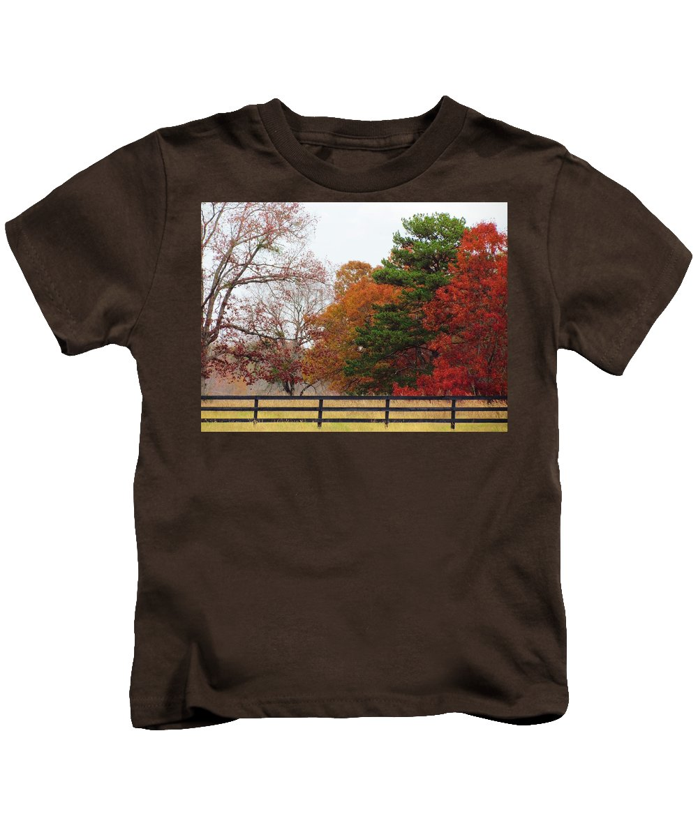 Fall Kids T-Shirt featuring the photograph Fall Beauty by Ginger Adams
