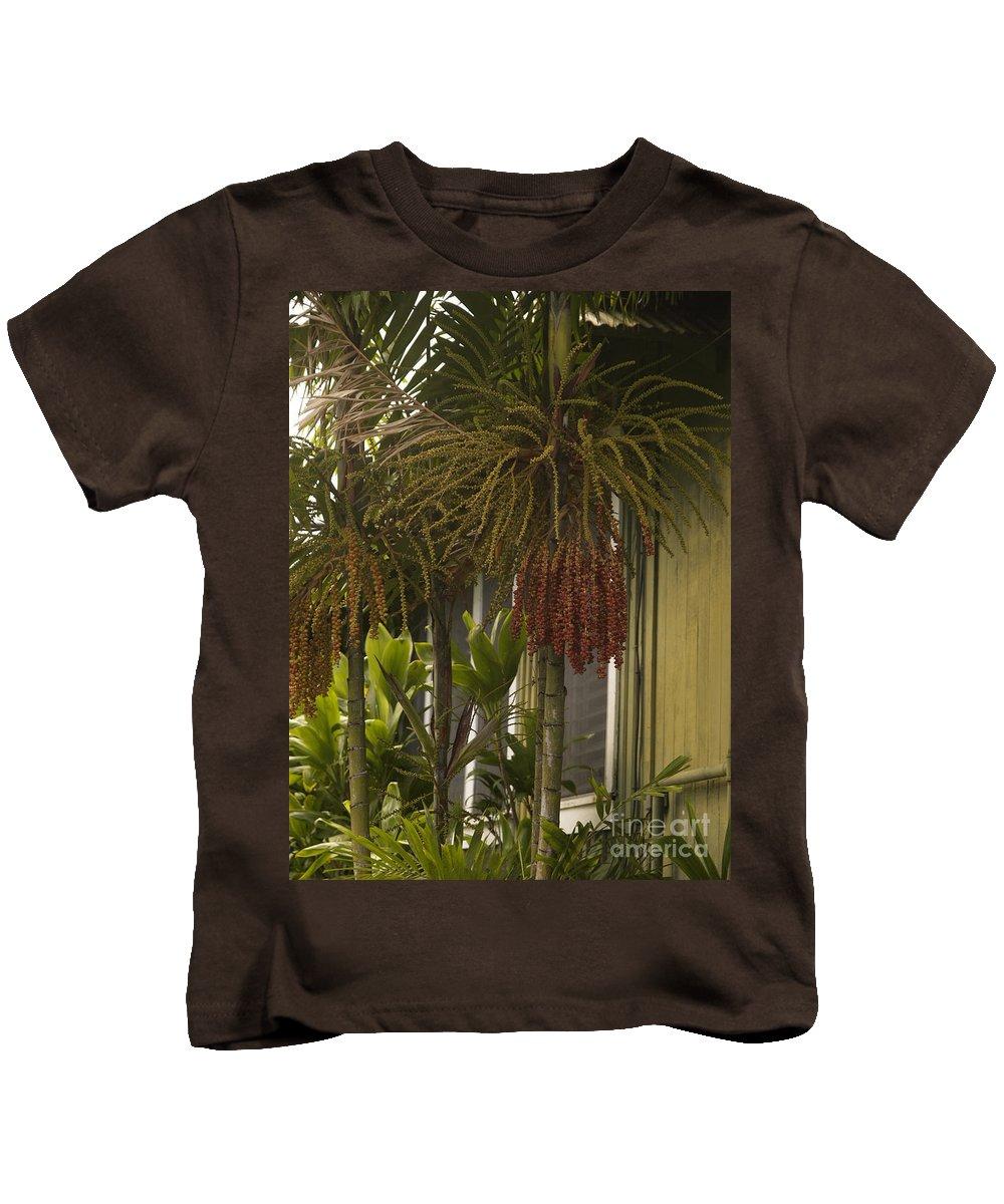 Aloha Kids T-Shirt featuring the photograph H A N A by Sharon Mau