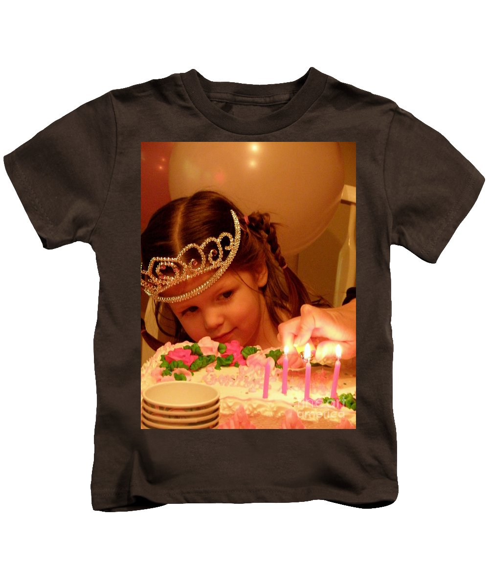 Birthday Kids T-Shirt featuring the photograph Make A Wish by Lainie Wrightson