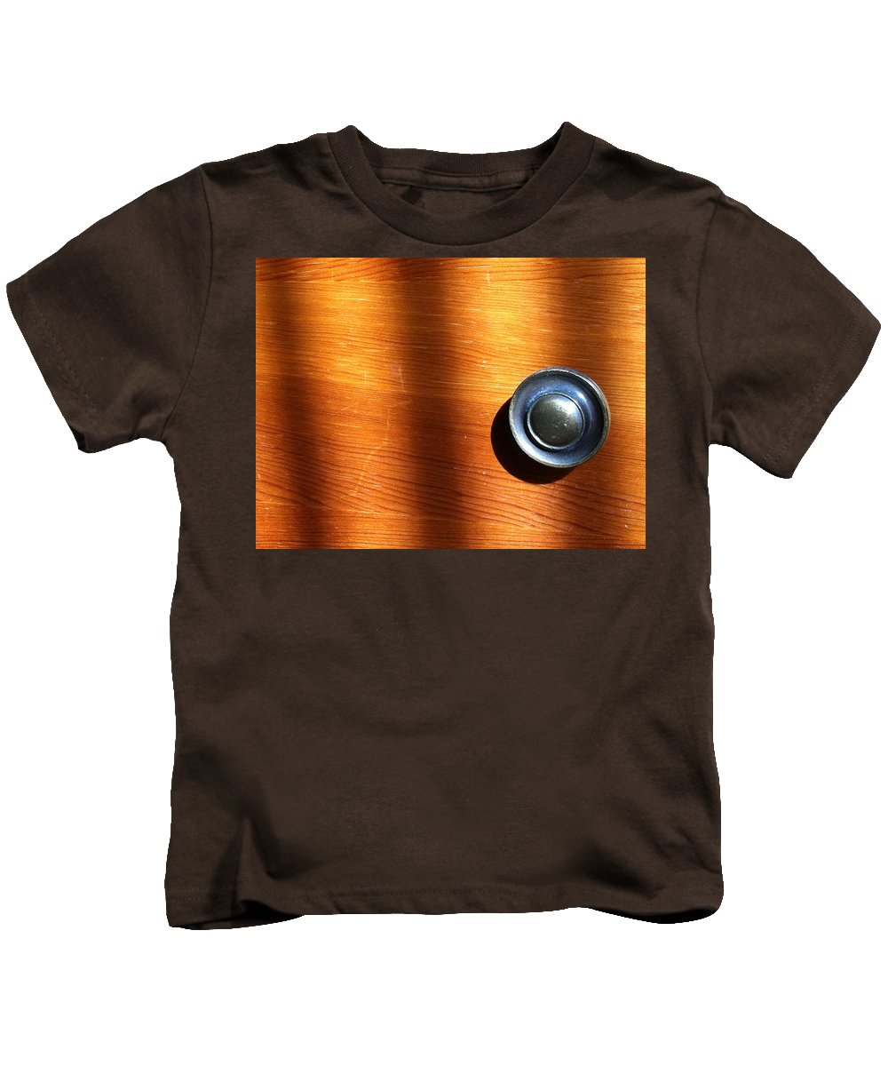 Morning Kids T-Shirt featuring the photograph Morning Shadows by Bill Owen