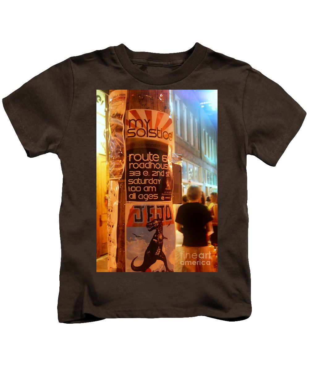 Rock And Roll Kids T-Shirt featuring the photograph My Solstice by Anjanette Douglas