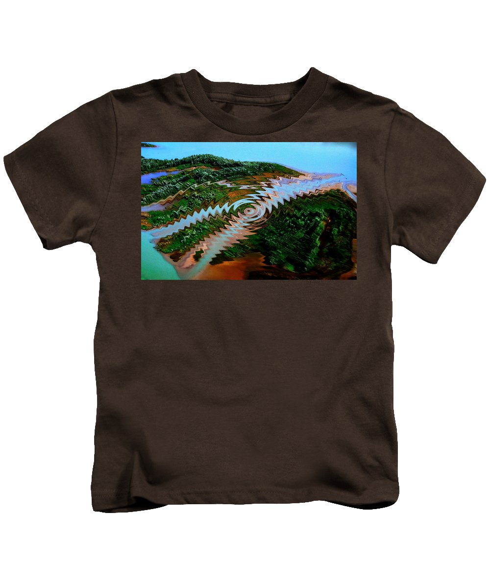 Colette Kids T-Shirt featuring the photograph Nature Joy Year 3010 by Colette V Hera Guggenheim