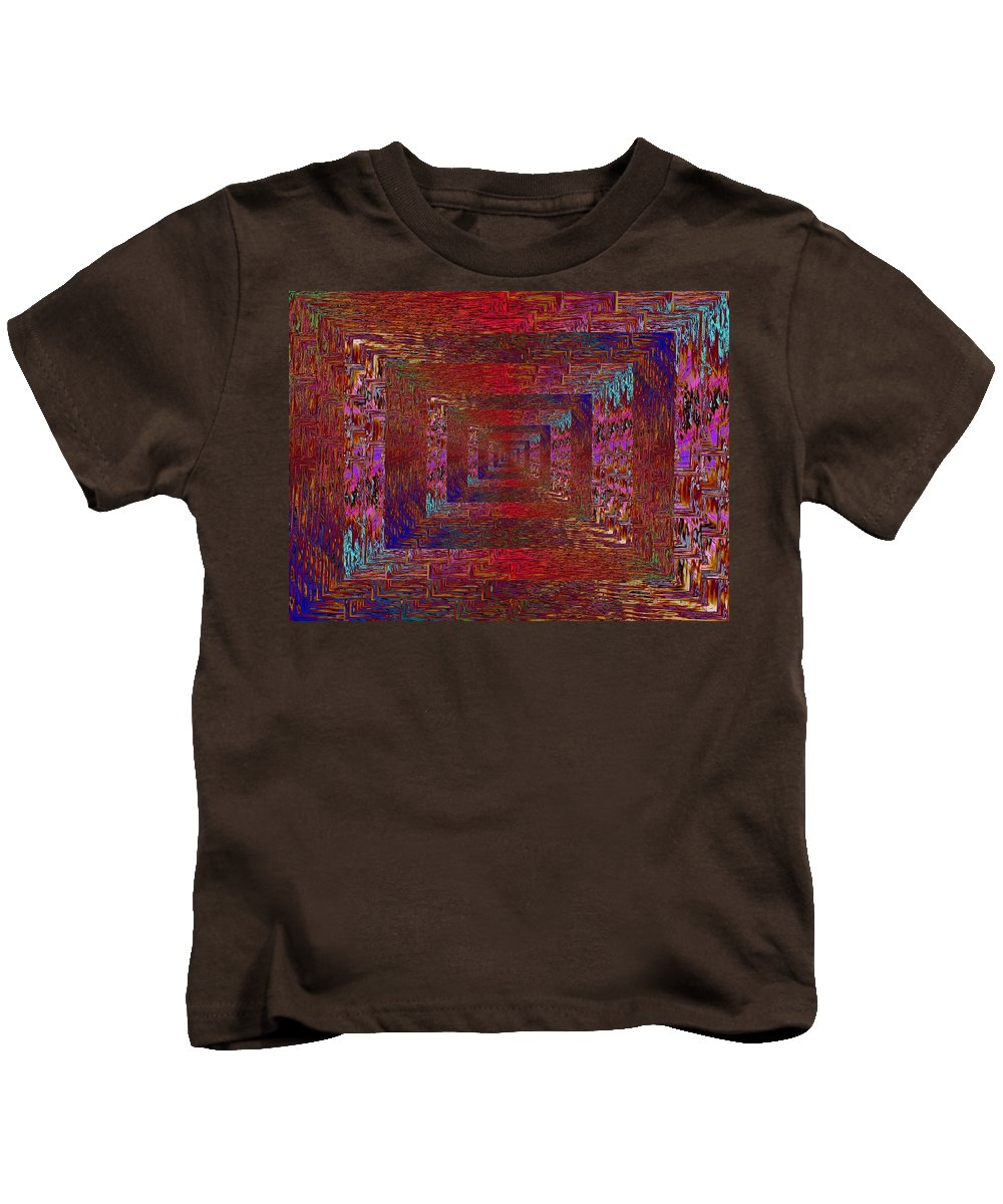 Paradigm Kids T-Shirt featuring the digital art Paradigm Shift by Tim Allen