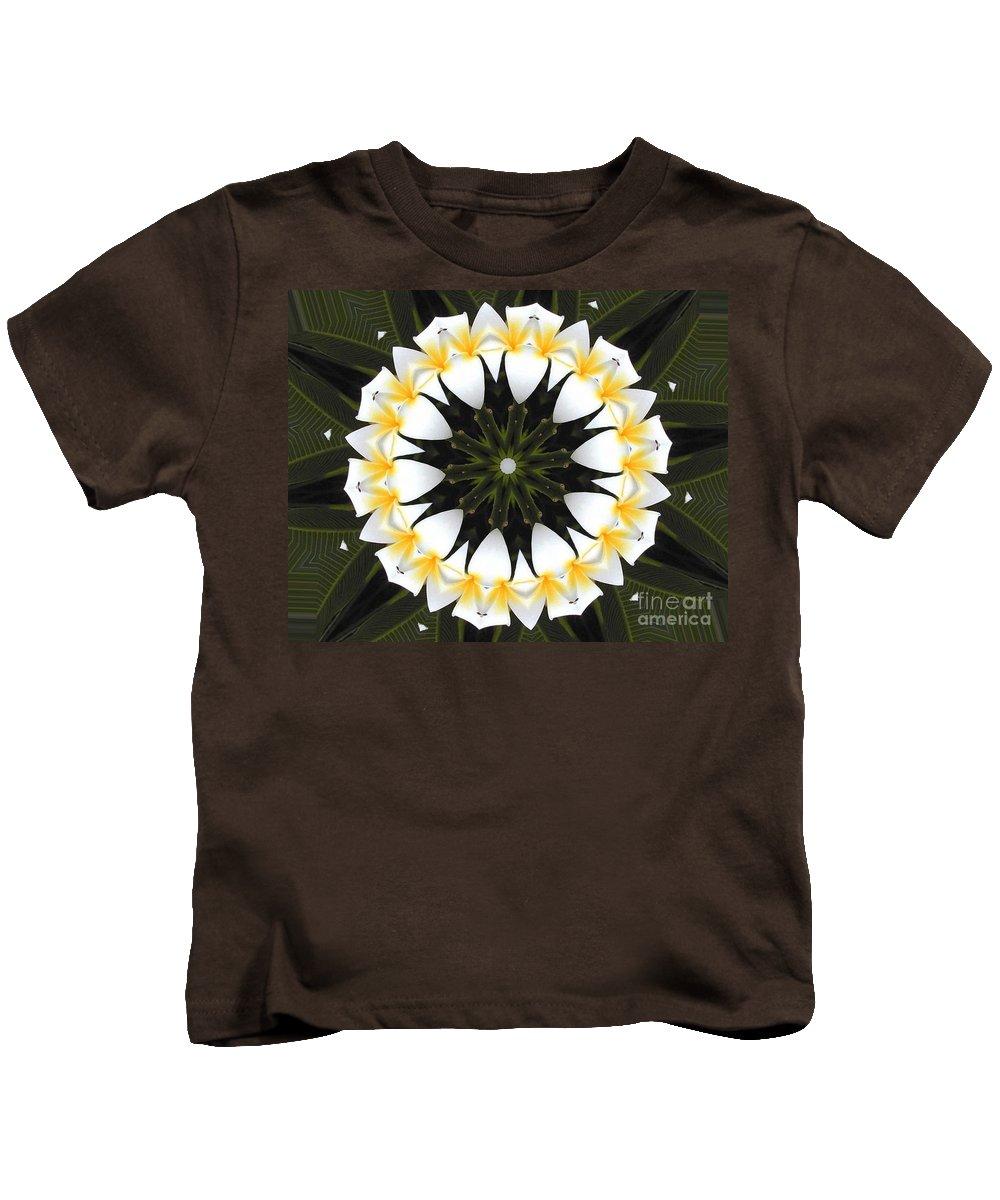 Plumeria Kids T-Shirt featuring the photograph Plumeria 1 by Mark Gilman