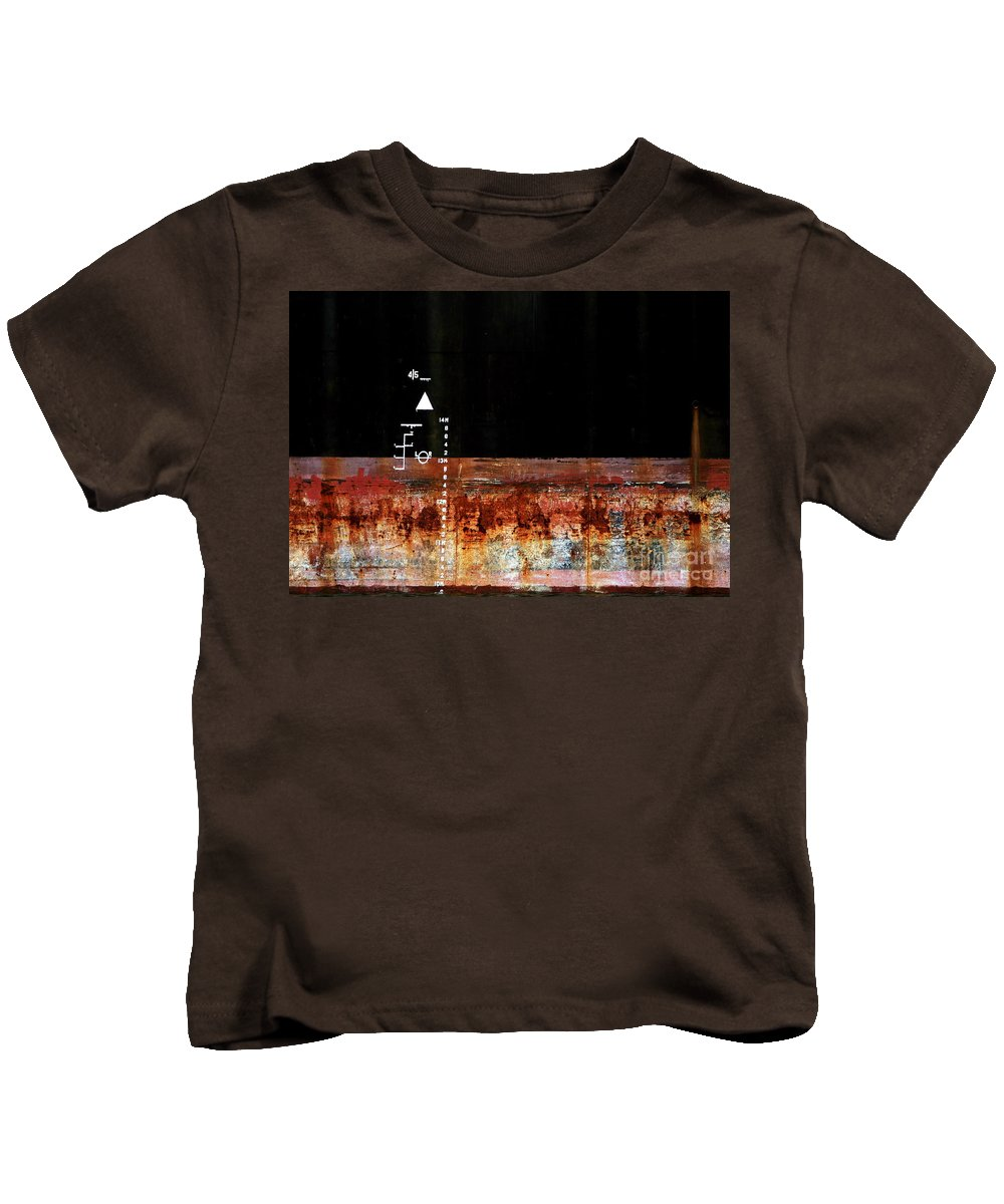 Rust Kids T-Shirt featuring the photograph Rusted Layer by Stephen Mitchell
