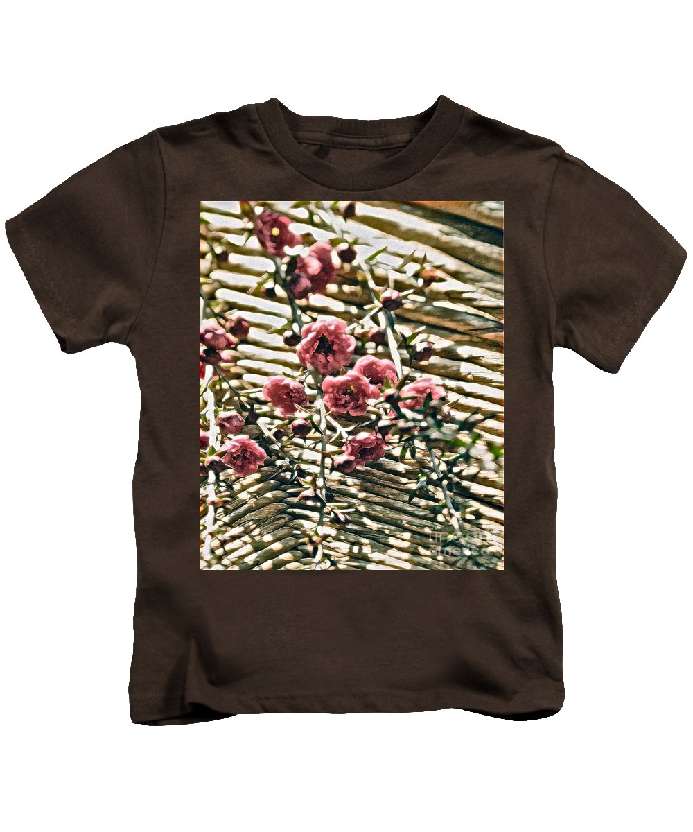 Tiny Flower Kids T-Shirt featuring the photograph Simple Charm by Gwyn Newcombe